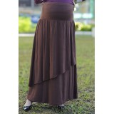 Autumnz - Breezy Maternity Long Skirt  *Mocha*